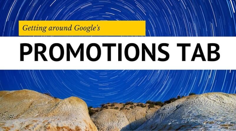 googles promotions tab