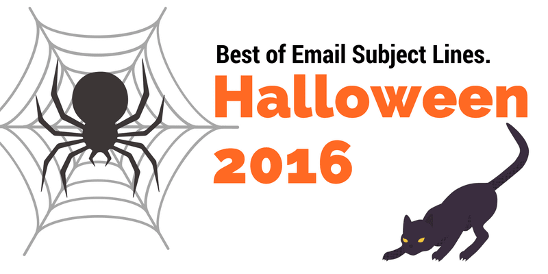 halloween subject lines