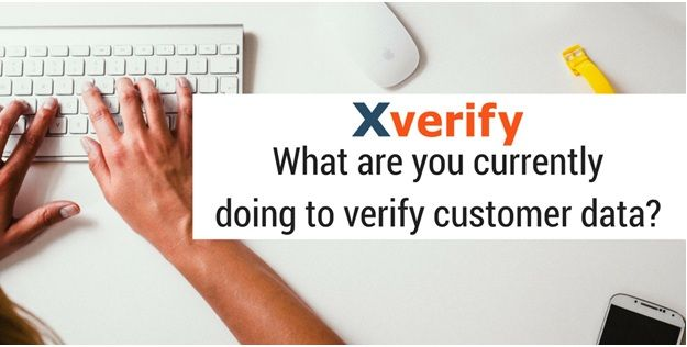 verify your customer data