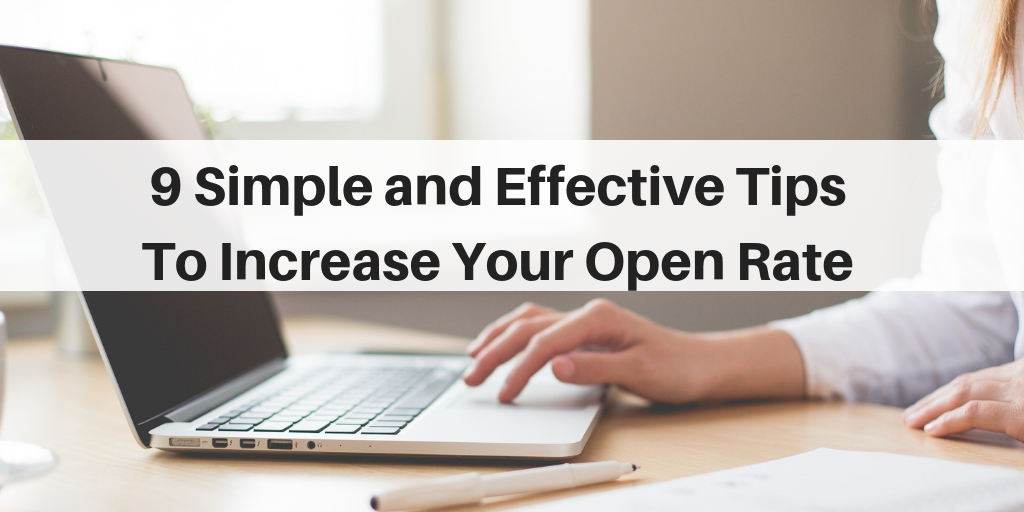 Increase Your Open Rates